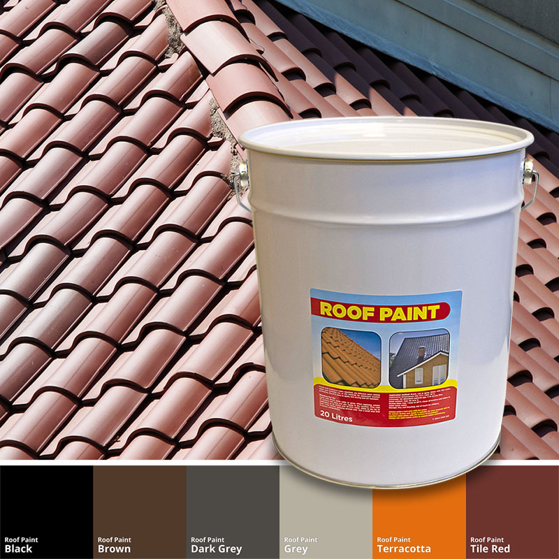 Gray Roof Paint: Affordable Roof Paint With FREE Delivery On Orders Over £30
